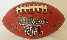 Wilson Nfl Junior Size Football Tackified White Laces