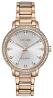 Citizen Eco-Drive Women's Swarovski Crystal Accents 36mm Watch FE7043-55A