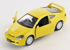 Blitz envío Honda Integra Type R amarillo/Yellow 1:34-39 Welly modelo nuevo con embalaje original