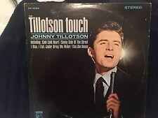 """JOHNNY TILLOTSON-RARE Original LP-""""Tillotson Touch""""-MGM-STEREO-1964-EX"""