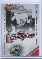 10-11 2010-11 CERTIFIED VINCENT LECAVALIER MIRROR RED CHAMPIONS /250 18 BOLTS