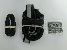 """Dean &Tyler Universal Dog Harness with """"Certified Therapy Dog"""" Patches - Size XS"""