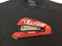 Office Space Mens Medium Red Swingline Stapler T Shirt