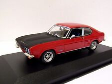 MAXICHAMPS FORD CAPRI RS 1969 RED 1/43