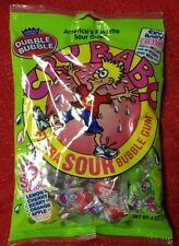 Americas Original Dubble Bubble Cry Baby Extra Sour Bubble Gum 4 oz Bag New