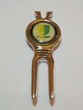 Black Bush golf club CT Tony foran divot tool & magnetic golf ball marker metal