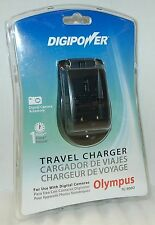 NEW DigiPower Digital Camera Battery Charger Olympus Stylus 30/300/500/600/800