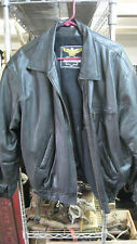 Genuine Leather Jacket with Fur Inside Size XL