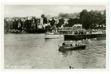 The Teal at Bowness Pier RP Postcard, B975