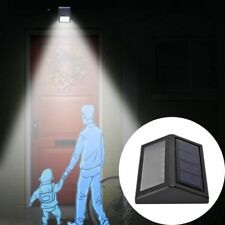 Solar Power PIR Motion Sensor 6 LED Wall Light  Waterproof Outdoor Garden Lamp