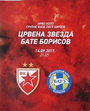 Logen Karte UEFA EL 2017/18 RS Belgrad - Bate Borisov