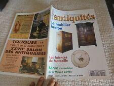 France Antiquités le Mobilier Breton , Musée Béarnais , Faïence de Marseille