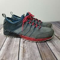 KEEN Men's Versacruz Athletic Shoe Gargoyle/Tango Shoe Size 9 US Grey Red