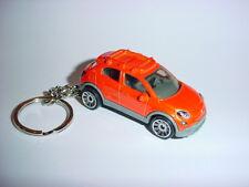 NEW 3D FIAT 500X CUSTOM KEYCHAIN keyring key Beautiful BACKPACK BLING!!!