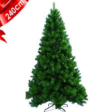 2.4m 8ft Luxury Artificial High Density Green Christmas Tree Home/Office/Shop