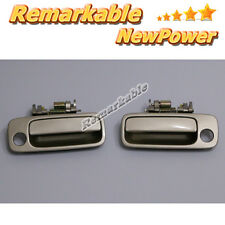Door Handle For 97-01 Toyota Camry Beige Metallic 4M9