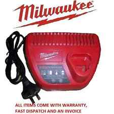 MILWAUKEE 12V GENUINE 12 VOLT C12C BATTERY CHARGER FOR IMPACT DRIVER DRILL