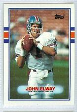 John Elway 1989 Topps '89 NFL Vintage Football Card #241 NM Denver Broncos