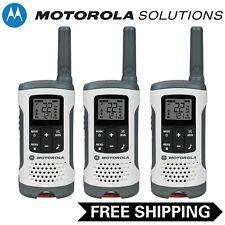 Motorola Talkabout T260 Two-Way Radio, 3 Pack, White
