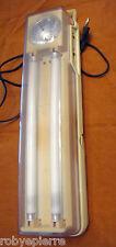 Lampada d'emergenza portatile ricaricabile a spina JML 22866 2 tubi fluorescenti