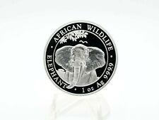 Somalia 100 Shillings African Wildlife 2021 Elephant  1 oz 999 Silber *unz*