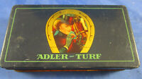 Blechdose Adler-Turf Zigaretten Adler-Compagnie Dresden/Sachsen Tabak um 1910