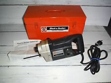 Black And Decker H.D. Industrial Heavy Duty Rotary Hammer Drill 5040-09 w/ Case