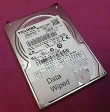 "Dell 0WR643 80GB Toshiba MK8037GSX HDD2D61 2.5"" Disco Duro Sata"