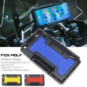 Wireless charger Fast charge Mobile Phone Navigation Bracket For BMW R1200GS