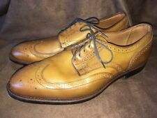 Allen Edmonds Madison Park Walnut Men's Dress Oxfords Shoes size 11 3E eee WIDE