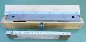 Endmaß 300 mm Endmaßkasten Endmaßsatz Parallel Endmaße Parallelendmaß Holzkasten
