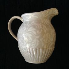 Ambiance BROCADE TAUPE Water Pitcher