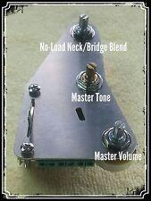 Kit de actualización de cableado Fender Stratocaster Strat 3-fezz Parka Tone Mod & Blend Pot
