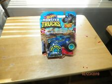 2019 MONSTER JAM GIANT WHEELS CONNECT AND CRASH (NESSIE SARY ROUGHNESS)  #11/50
