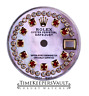 Custom Pink MOP  String Genuine Diamond Dial To Fit Rolex Lady Datejust 26mm