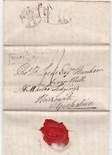 # 1825 BELVEDERE PLACE LONDON KINGS BENCH PRISON >THOS B LOCKE HULL BANKER YORKS