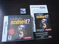 Nintendo DS: Scene It Twilight  complete in case & tested