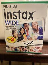 Fujifilm 16468498 Instax Wide Film- Twin Pack
