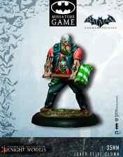 CAVALIERE modelli NUOVO CON SCATOLA Batman Arkham Origins-Joker Elite PAGLIACCI k35bao005