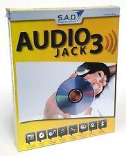 AudioJack 3, S.A.D. MP3-Recorder für Musikaufnahmen, CD-ROM für PC, NEU in OVP!