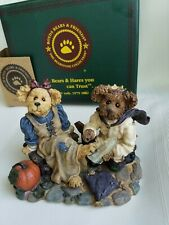 "Boyds Bears ""Cindyrella & Prince Charming If The Shoe Fits"" Nib"
