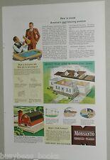 1946 Monsanto Chemical advert, Santophen 20 wood preservative pentachlorophenol