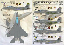 DECAL FOR F-15E EAGLES 1/48 PRINT SCALE 48-031