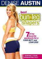 Denise Austin: Best Bun and Leg Shapers DVD NEW