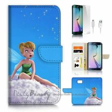 ( For Samsung S7 Edge ) Wallet Case Cover P3240 TinkerBell