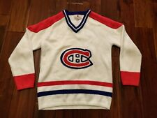 Montreal Canadians NHL Sweater Acrylic Wool Women's Size XS