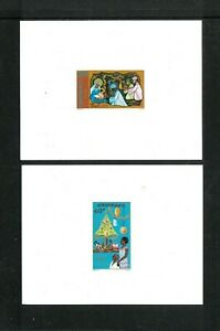 Senegal #'s 462-465 Die Proofs F-VF MNH. Regular Stamps Cat. 2.55. Net 50.00