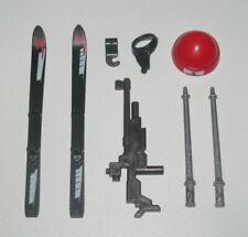 Playmobil Lot Accessoires Skieur Sportif Ski + Batons + Fusil + Bonnet