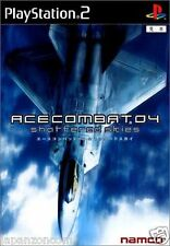 Used PS2 Ace Combat 04: Shattered Skies  SONY PLAYSTATION JAPAN IMPORT