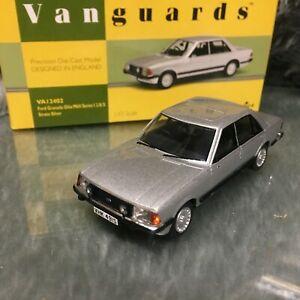 Corgi Vanguards Classics 1:43 Ford Granada Mk2 Ser1 2.8i Strato Silver VA12402